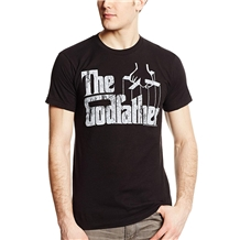 The Godfather Distressed Logo Adult T-shirt