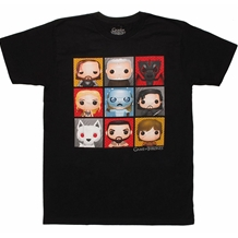 Game Of Thrones Cibi Character T-Shirt