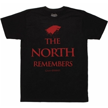 Game of Thrones The North Remembers T-Shirt