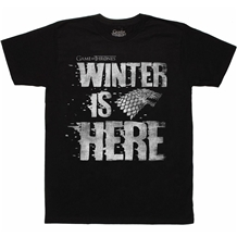 Game of Thrones Winter Is Here T-Shirt