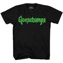 goosebumps green slime logo t-shirt