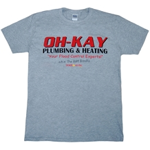 Home Alone Oh-Kay Plumbing and Heating T-Shirt