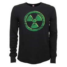 Incredible Hulk Radioactive Symbol Thermal Shirt