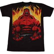 Incredible Hulk : Red Hulk T-Shirt