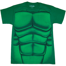 I Am The Hulk Muscles Costume T-Shirt