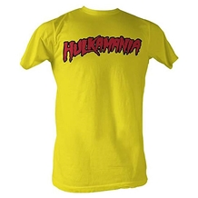 Hulkamania Yellow T-Shirt