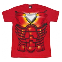 Iron Man Costume Youth T-Shirt