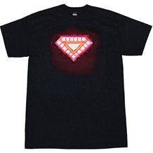 Iron Man Classic Core Glow-In-The-Dark T-Shirt