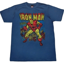 Iron Man Panes Vintage T-Shirt