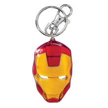 Iron Man Colored Pewter Key Chain