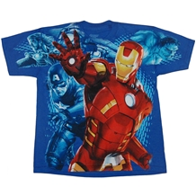 Iron Man Replusor Blast Youth T-Shirt