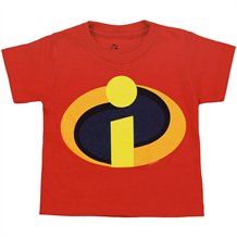 The Incredibles Movie Symbol Toddler Juvy T-Shirt