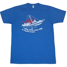 Jaws Bigger Boat T-Shirts