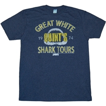Jaws Quint's White Shark Tours T-Shirt