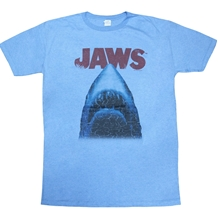 Jaws Distressed Movie Logo T-Shirt
