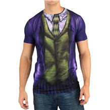 Joker Suit Up Sublimated Costume T-Shirt