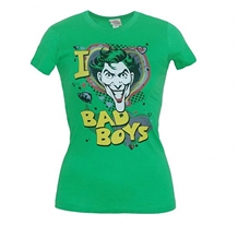 I Love Bad Boys Junior Tee