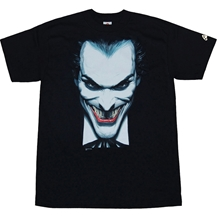 Joker Closeup by Alex RossT-Shirts