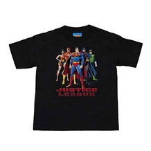 Justice League In League Kids T-Shirt