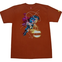 Justice League Kiss T-Shirt