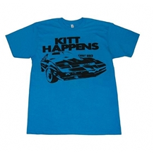 Knight Rider Kitt Happens Adult T-Shirt