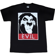 Lion King Scar Evil T-Shirt