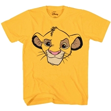 Disney Lion King Simba Face Big Smile T-Shirt