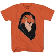 Disney Lion King Scar Evil Face T-Shirt