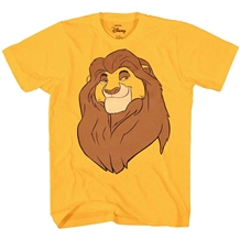 Disney Lion King Mufasa Face Big Smile T-Shirt