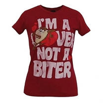 Taz I'm Lover Not A Biter T-Shirt