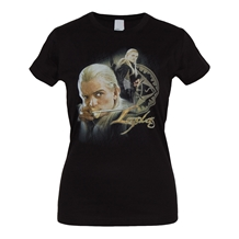 Lord Of The Rings: Legolas Junior Ladies T-Shirt