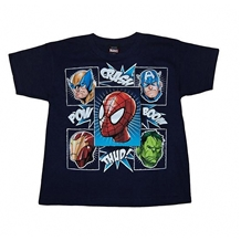 Marvel Comics Hero Head T-Shirts