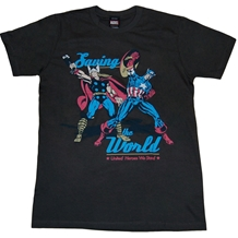 Marvel Comics Defending Earth T-Shirt