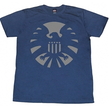 Night S.H.I.E.L.D Symbol T-Shirt