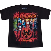 Avengers Primed and Ready Youth T-Shirt
