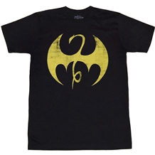 Iron Fist Distressed Symbol T-Shirt