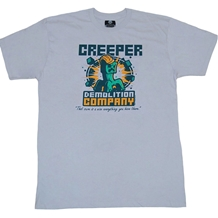 Minecraft Creeper Demolition Company Youth T-Shirt