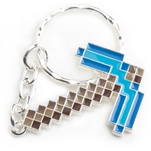 Minecraft Diamond Pickaxe Key Chain