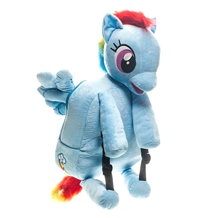 My Little Pony Rainbow Dash Plush Backpack