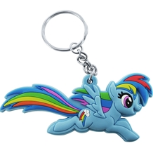 My Little Pony Rainbow Dash Cutie Mark Keychain
