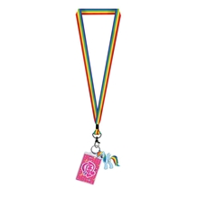 My Little Pony Rainbow Dash Lanyard with Charm