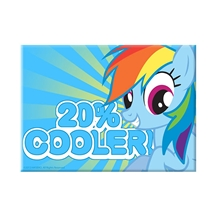 My Little Pony Rainbow Dash 20% Cooler Magnet