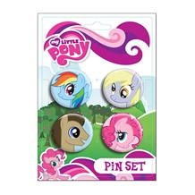 My Little Pony Ponies 4-Pack Pin Set