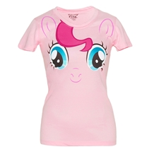 My Little Pony Pinkie Pie Face Junior Ladies T-Shirt