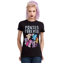 My Little Pony Ponies Forever Junior Ladies T-Shirt