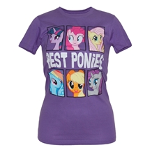My Little Pony Best Ponies Junior Ladies T-Shirt