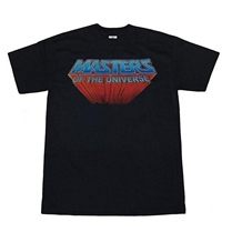 Master Of The Universe Retro Logo T-Shirt