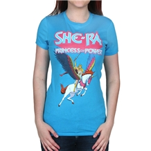 Master of the Universe She-Ra Classic Junior Womans T-Shirt