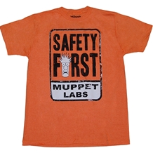 Muppets Laps Safety First T-Shirt