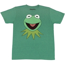 Muppets Kermit The Frog Face T-Shirt